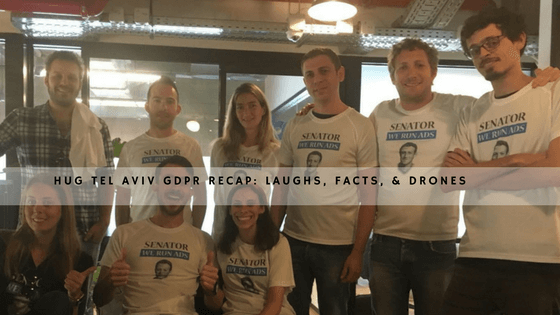 HUG Tel Aviv GDPR Recap: Laughs, Facts, & Drones header
