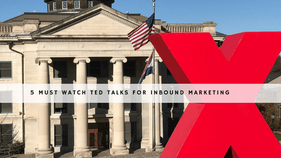5 must watch TED talks for Inbound Marketing header