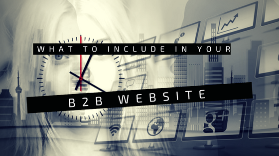B2B Website Should Include header