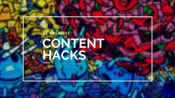 content marketing hacks header