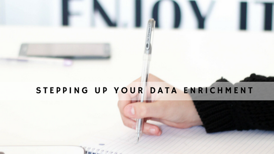 4 Steps to Taking Your Data Enrichment Strategy header