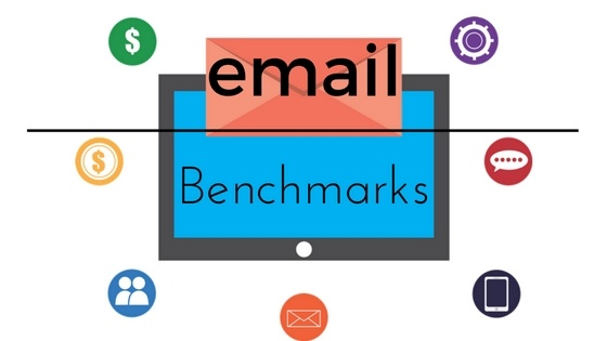 Email Marketing Benchmarks - is Your Business Performing at its Peak? header