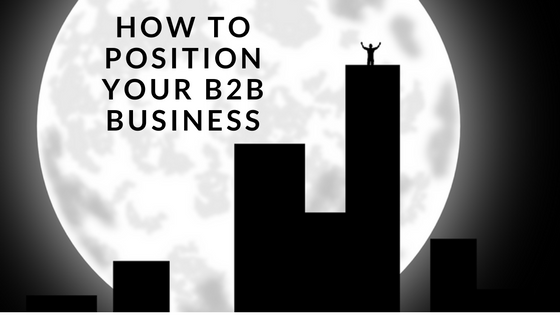 how to position your b2b agency header