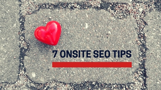 onsite seo tips