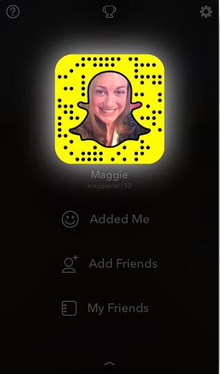 snapcode screenshot