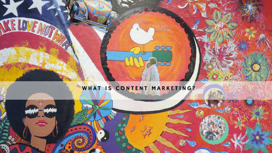 what is content marketing header