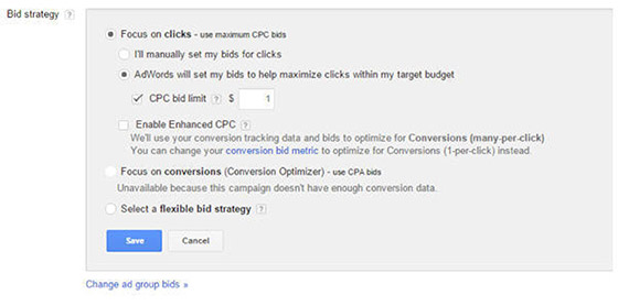 bidding-options-adwords