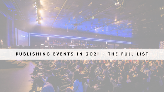 Publishing events in 2021 - the full list