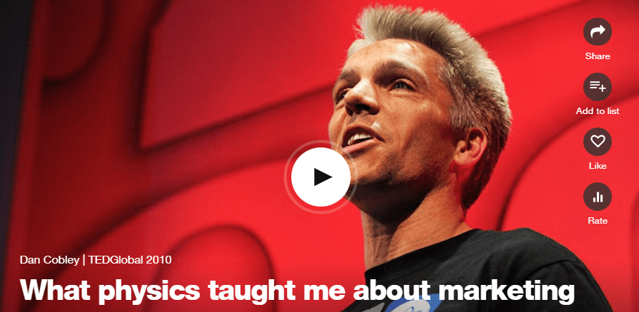 Dan Cobley: What physics taught me about marketing