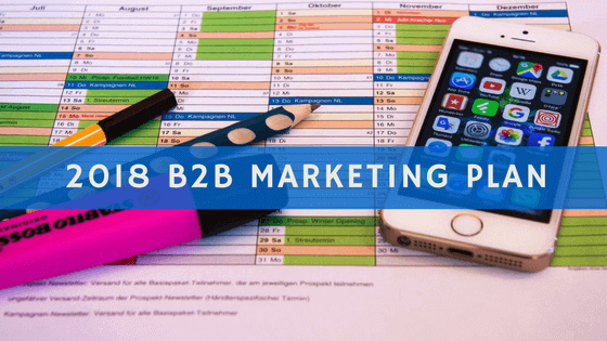 B2B Marketing Plan header