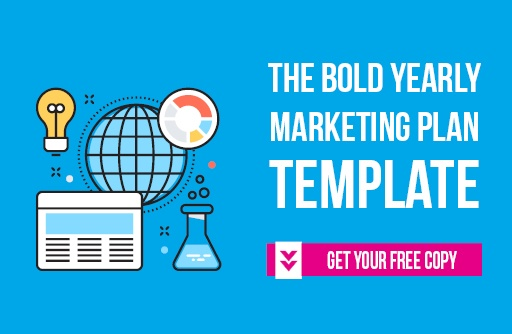 the bold yearly marketing plan template