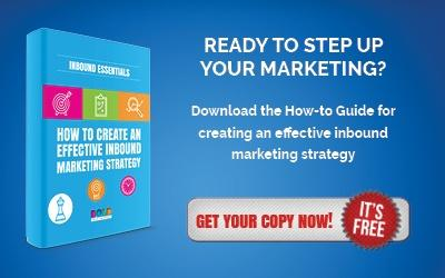 How To Create An Effective Inbound Marketing Strategy Call to Action