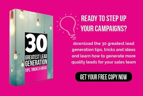 30 lead generation tips eBook